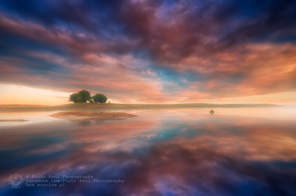 Photograph colorful lake by Piotr Krol on 500px