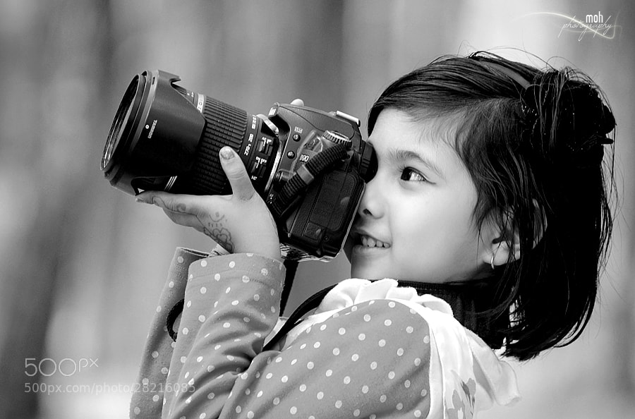 Photograph Little Photographer by Mohan Duwal on 500px