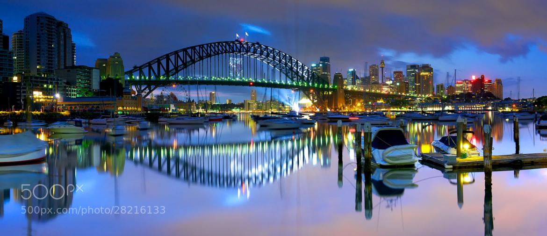 Photograph Sydney harbour bridge by donald Goldney on 500px