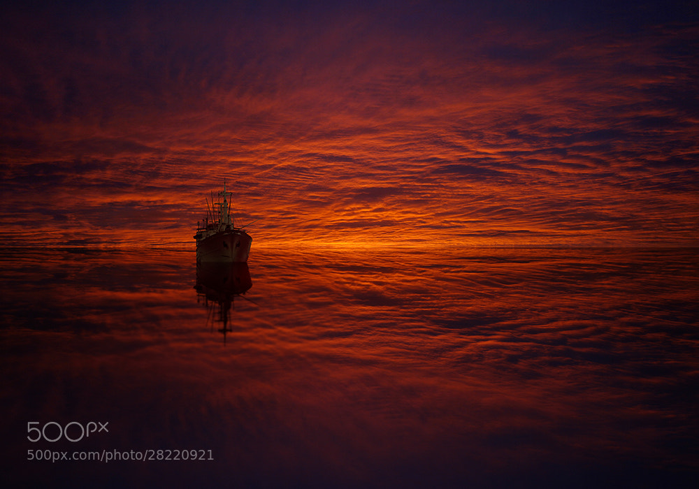 Photograph - Ghostship - by Frank Schlamp on 500px
