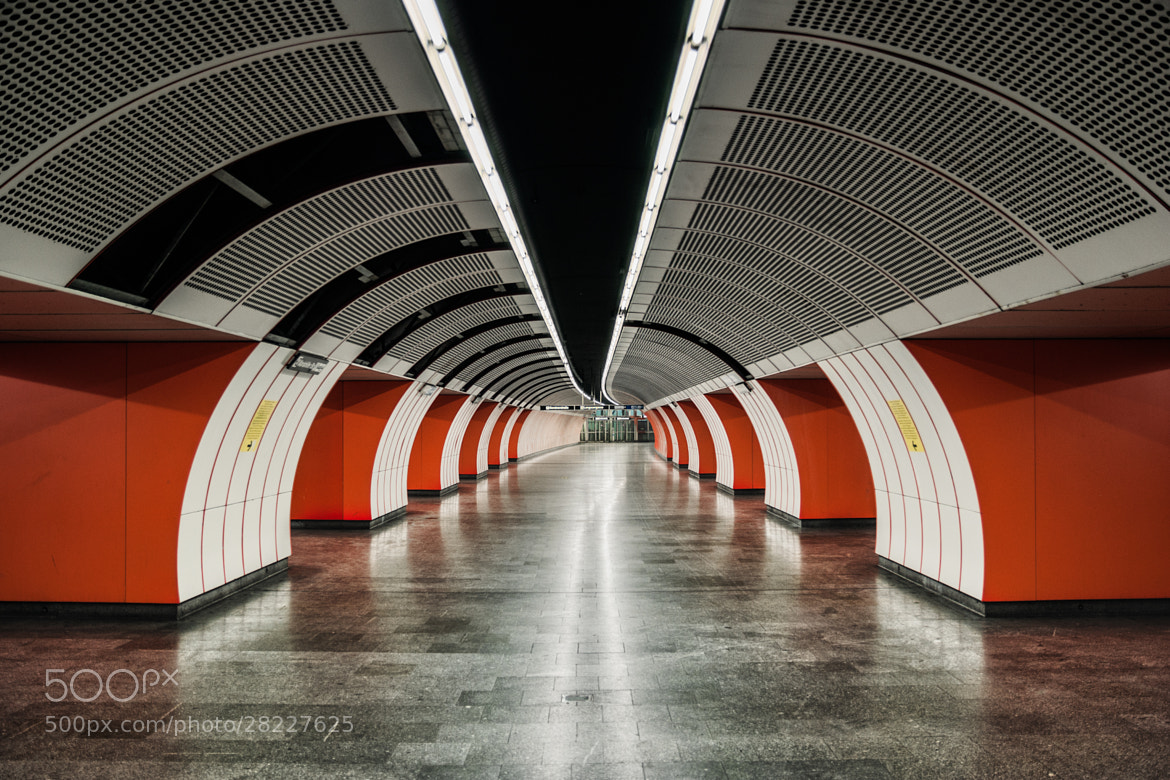 Photograph Metro of the Future (Vienna, Austria) by James Clear on 500px