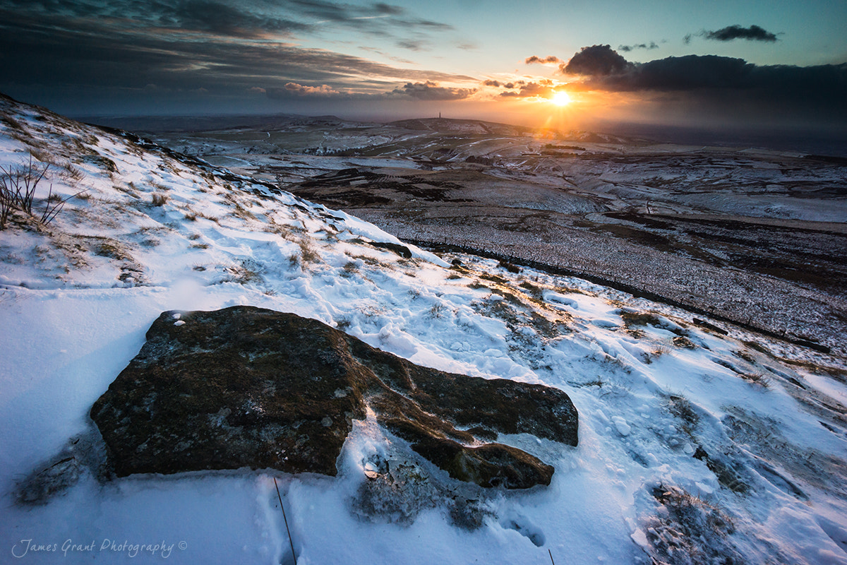 Photograph Shutlingsloe Sunset by James Grant on 500px