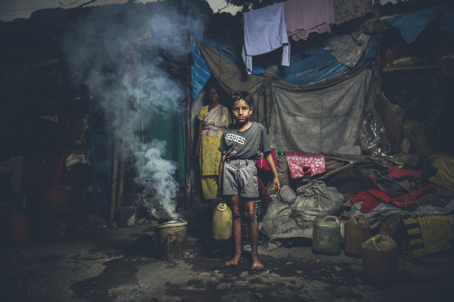 Kolkata Slums by Mohamed Nageeb on 500px.com