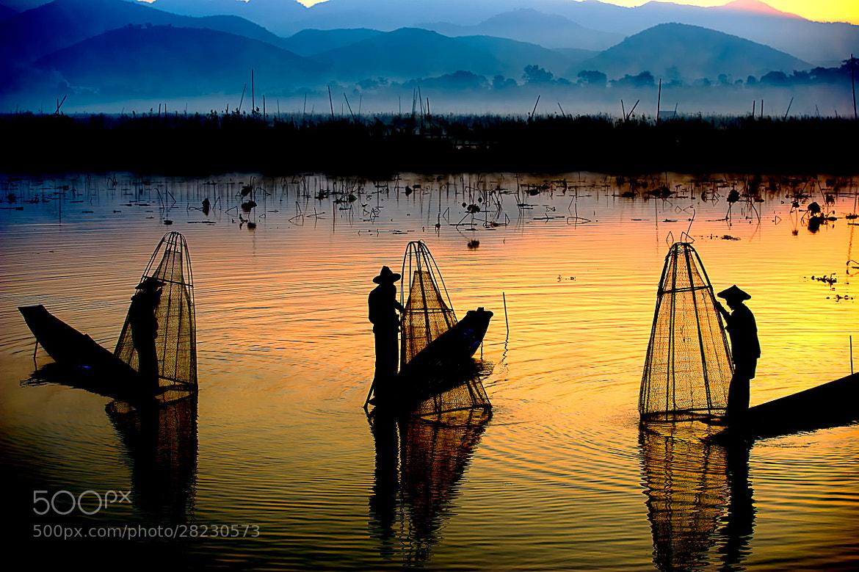 Photograph 3 fishermen by hamni juni on 500px