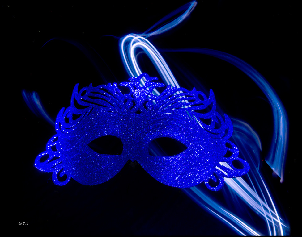 Photograph the blue mask by helene stelliou liboiron on 500px
