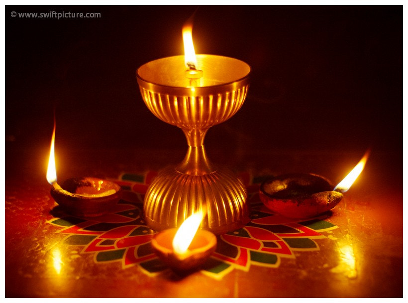 Photograph Oil Lit Lamp by Vibin Andrews on 500px