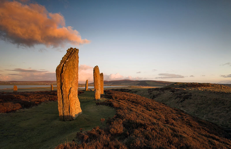 Photograph The Ring of Brodgar, Loch Harray, Orkney Mainland, Scotland by Heather Leslie Ross on 500px