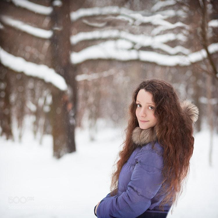 In the winter forest. by Tina Cherkasova (TinaCherkasova)) on 500px.com
