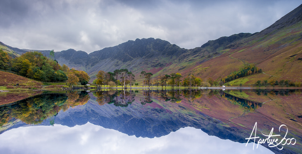 Photograph Buttermere Reflection by Colin Carter on 500px