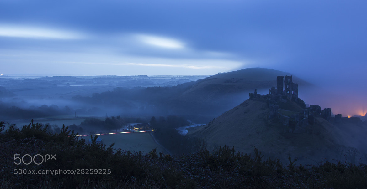 Photograph Corfe Castle by Gail Sparks on 500px