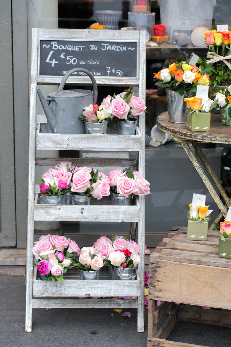 Photograph Flower Shop in Paris by Naomi Turner on 500px