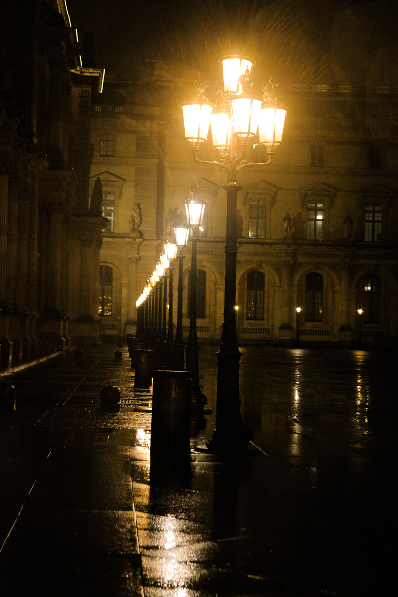 Photograph Lights at the Louvre by Naomi Turner on 500px