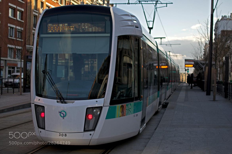 Photograph Tram - Paris by Pierre Nouaille-Degorce on 500px