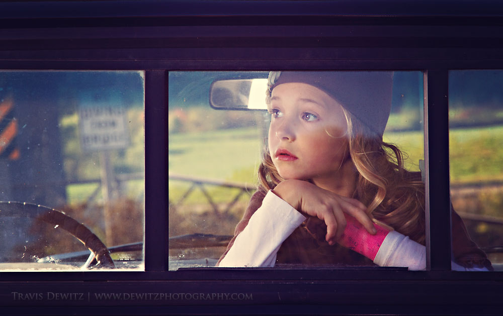 Photograph Dreaming Girl by Travis Dewitz on 500px