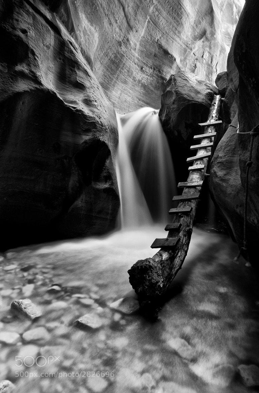 Photograph Canyon Glow BW by Bill Ratcliffe on 500px