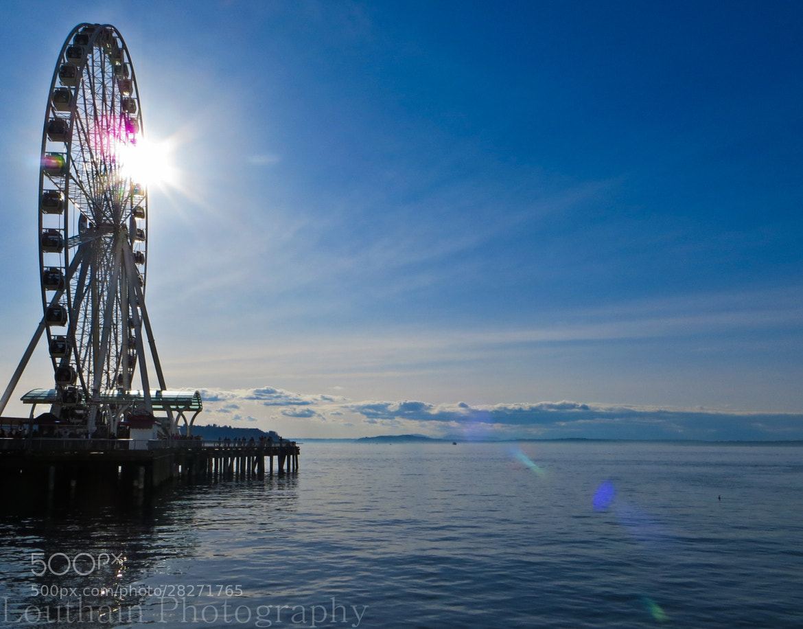 Photograph Seattle Ferris Wheel by Eric Louthain on 500px