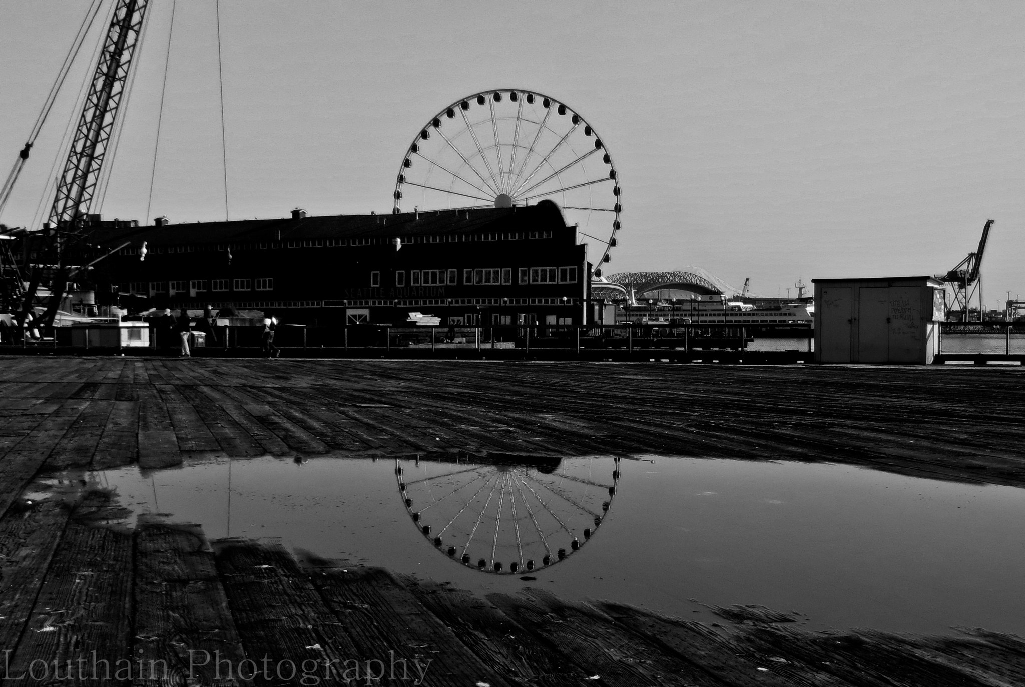 Photograph Seattle Great Wheel by Eric Louthain on 500px