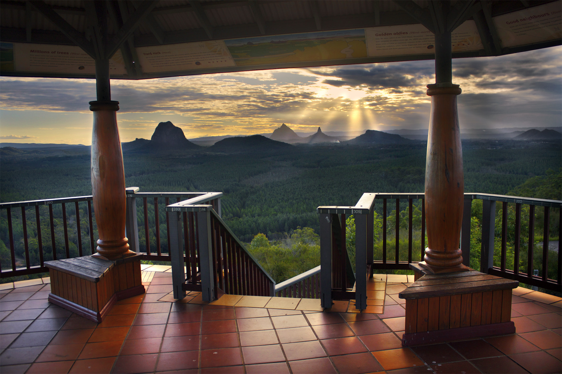 Photograph View From The Top || GLASSHOUSE MOUNTAINS by Rhys Pope on 500px
