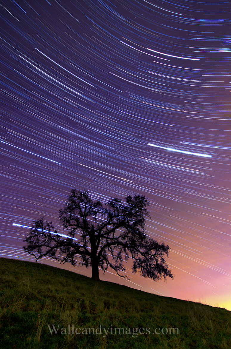 Photograph Sunset and stars by Dustin Penman on 500px