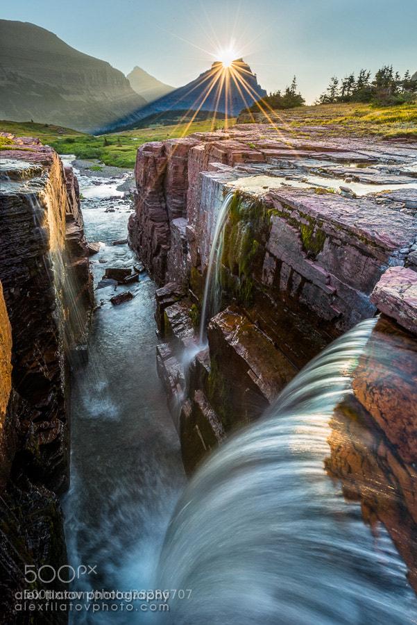 Photograph Sun-Crowned Falls by Alex Filatov | alexfilatovphoto.com on 500px