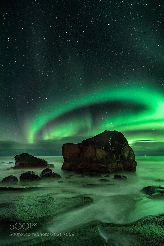 Photograph Aurora, Uttakliev by Ajit Menon on 500px