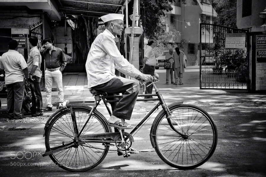 Photograph Man on Bike by Broto C on 500px