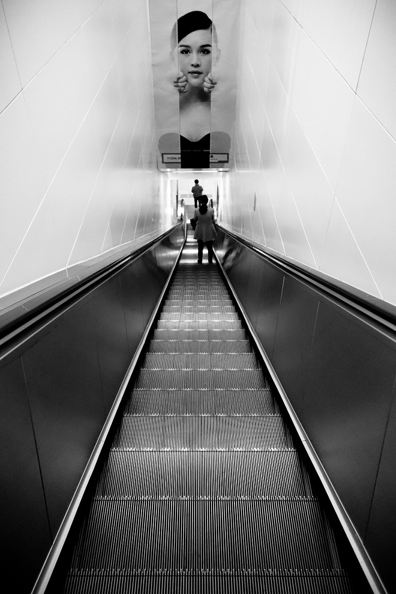 Photograph Escalator by neeson peng on 500px