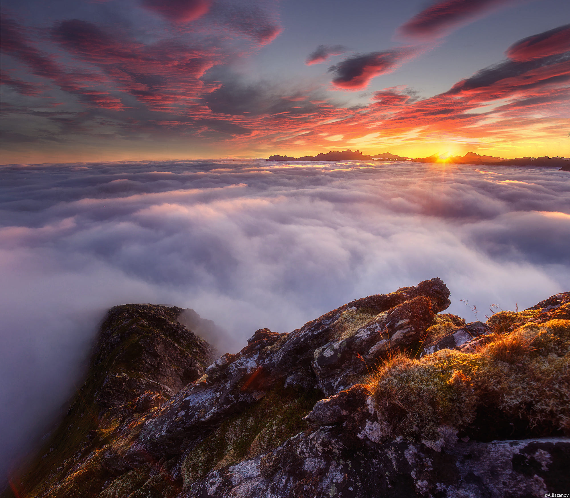 Above cloud cover