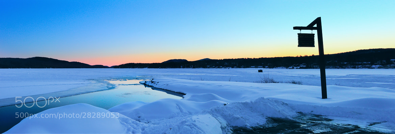 Photograph IceMelt at Sundown by Matt H on 500px