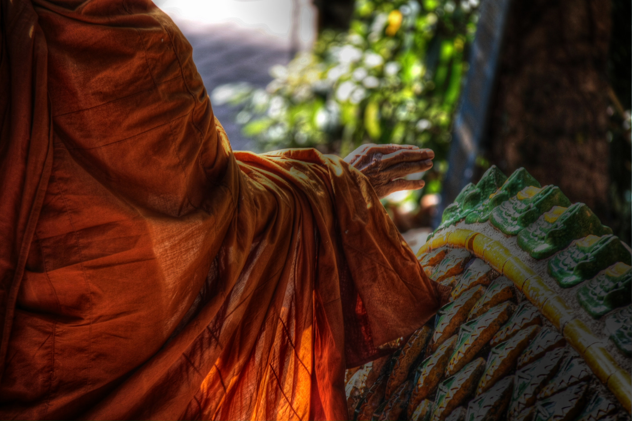 Photograph Monk and Dragon tail by Philippe Kerignard on 500px