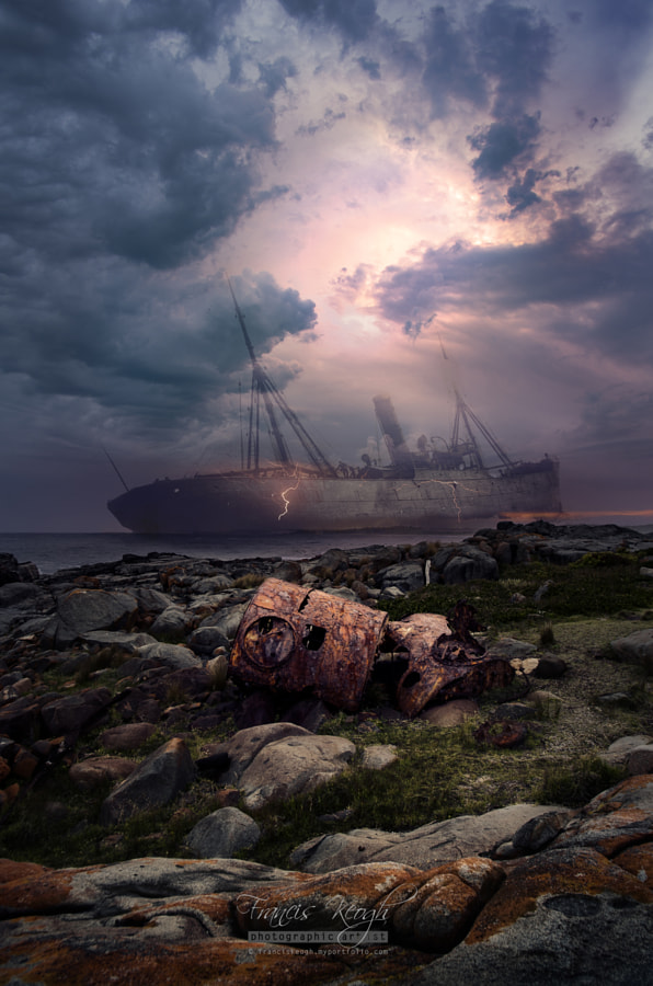 The SS Monaro - Bingie Point #2 by Francis Keogh on 500px.com