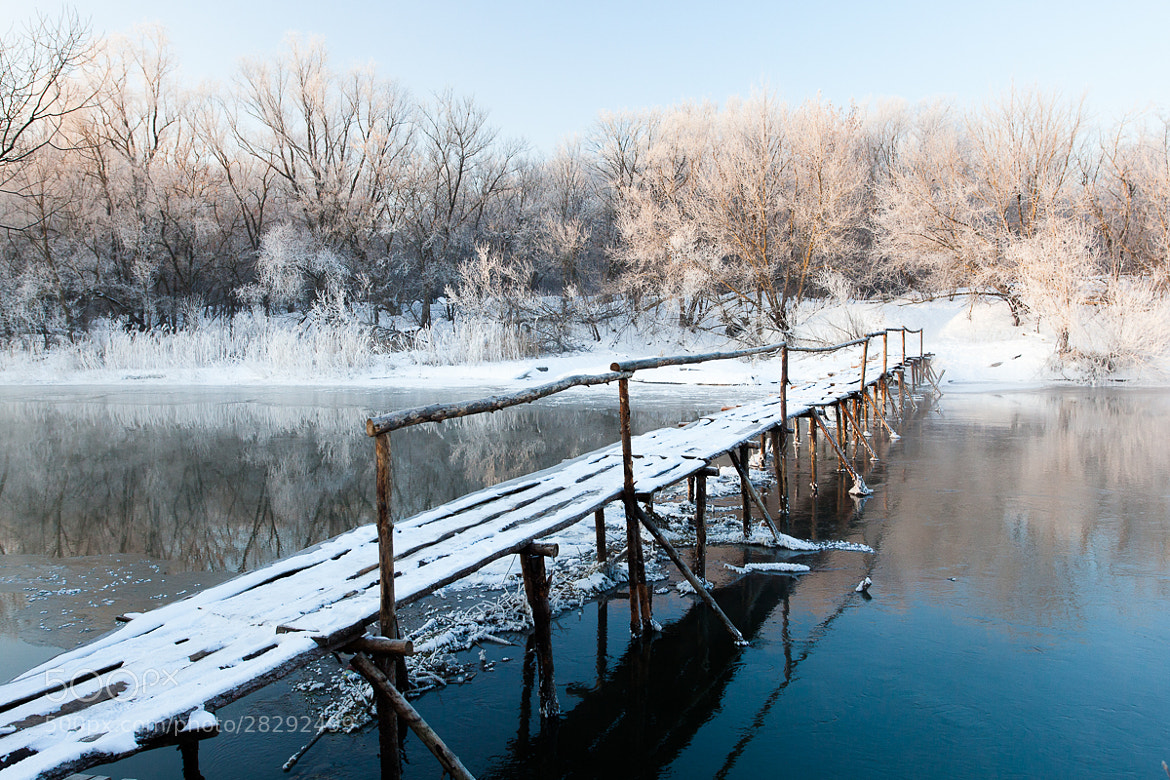 Photograph Winter Bridge by Denis Belyaev on 500px