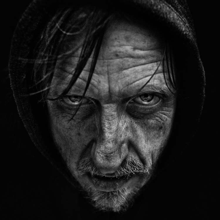 Photograph Tony Teardrop by Lee Jeffries on 500px