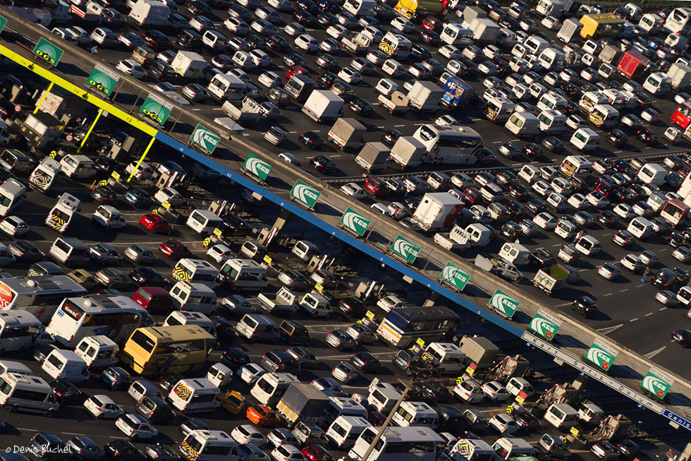 Photograph Traffic Congestion  by Denis Buchel on 500px