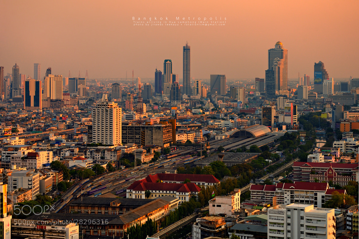 Photograph Bangkok Metropolis by Jirawas Teekayu on 500px
