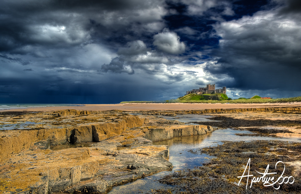 Photograph Stormy Bamburgh by Colin Carter on 500px