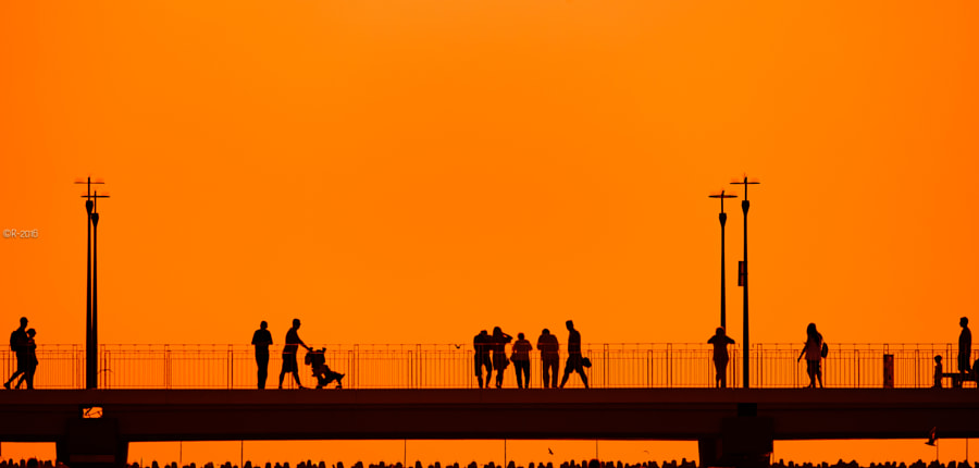 Sundown Walk by Olivier Rentsch on 500px.com