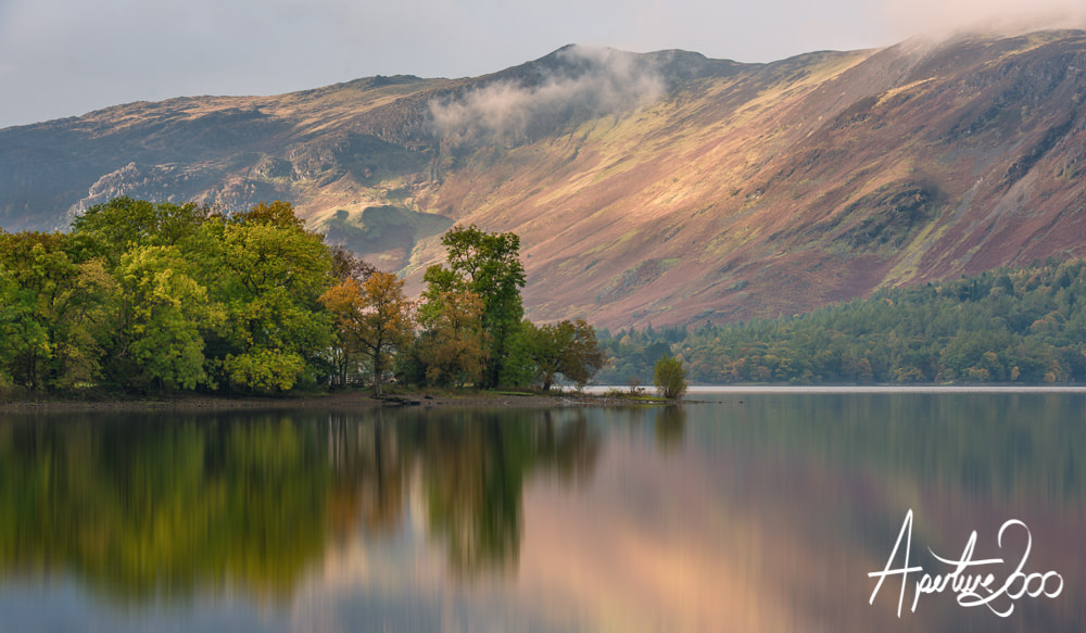 Photograph Derwent Water reflection by Colin Carter on 500px