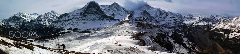 Photograph Männlichen Peak by Rafael Defavari on 500px