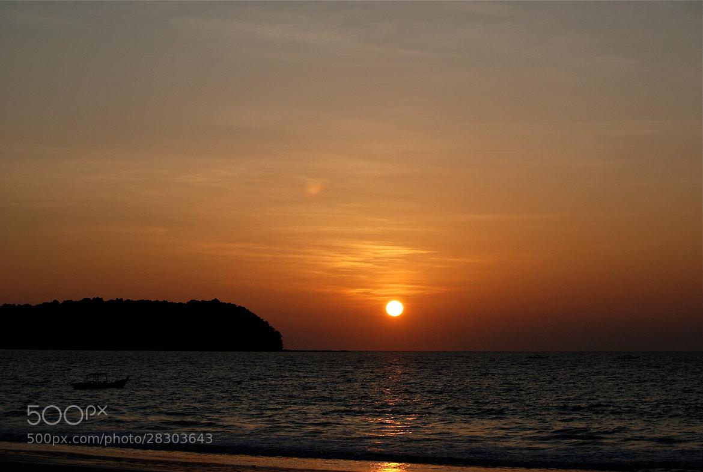 Photograph Sunset - Ngapali by Tommysalasphoto on 500px