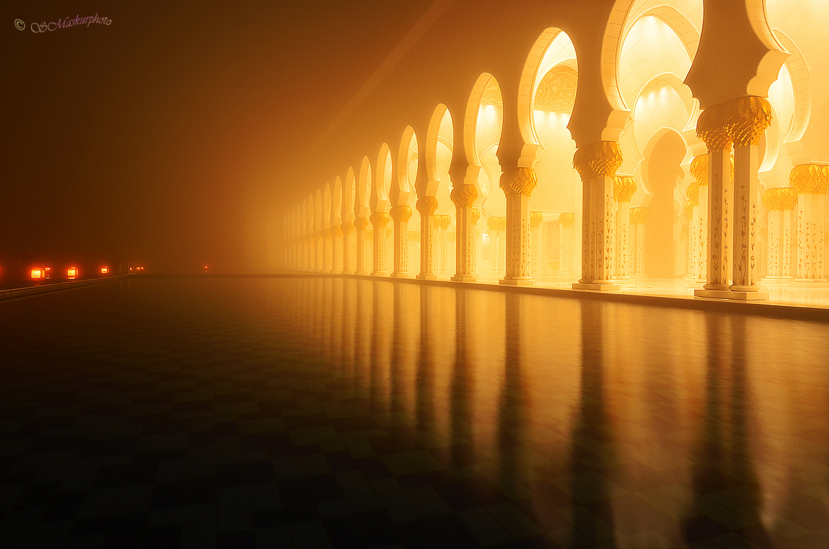 Photograph foggy at Grand Mosque by Sukirno Maskur on 500px