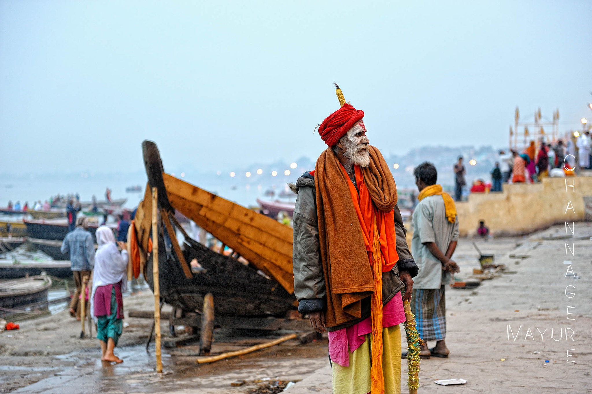 Photograph On the Banks of Ganga by Mayur Channagere on 500px