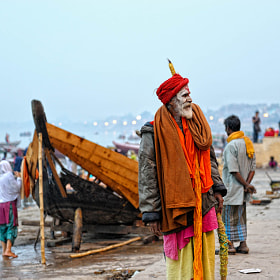 On the Banks of Ganga by Mayur Channagere (MayurChannagere)) on 500px.com