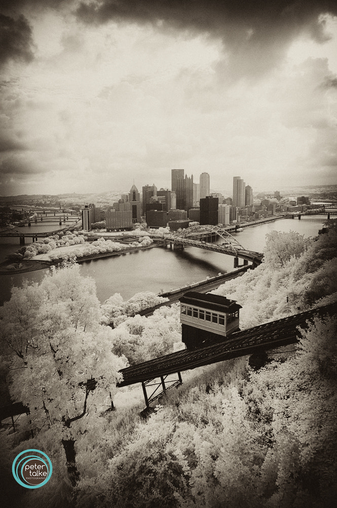 Photograph Pittsburgh (IR) by Peter Talke Photography on 500px