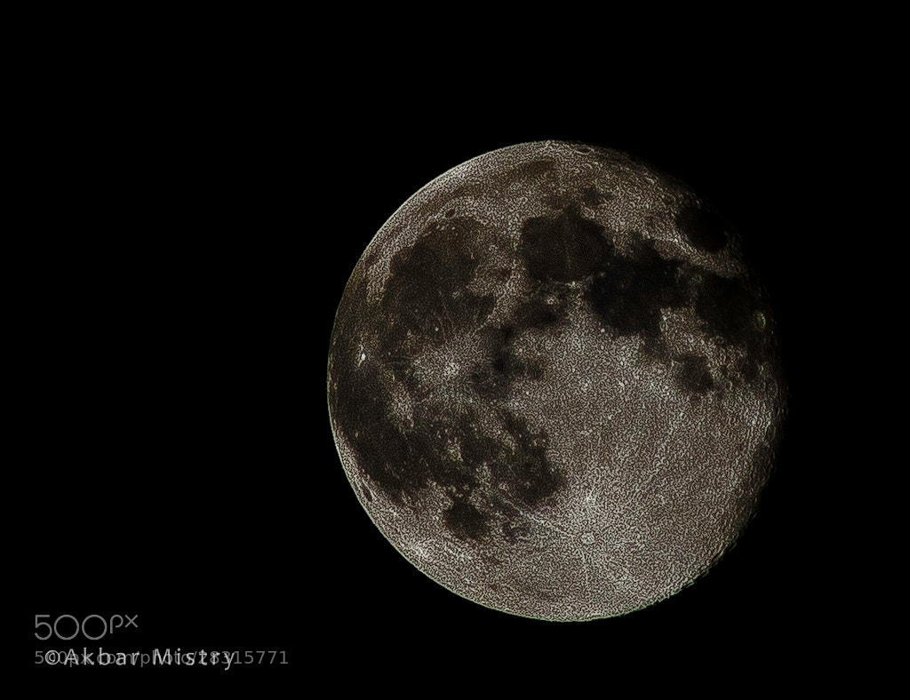 Photograph Moon by Akbar Mistry on 500px