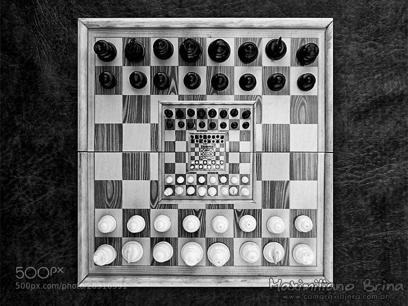 Photograph Infinite chess by Maximiliano Brina on 500px