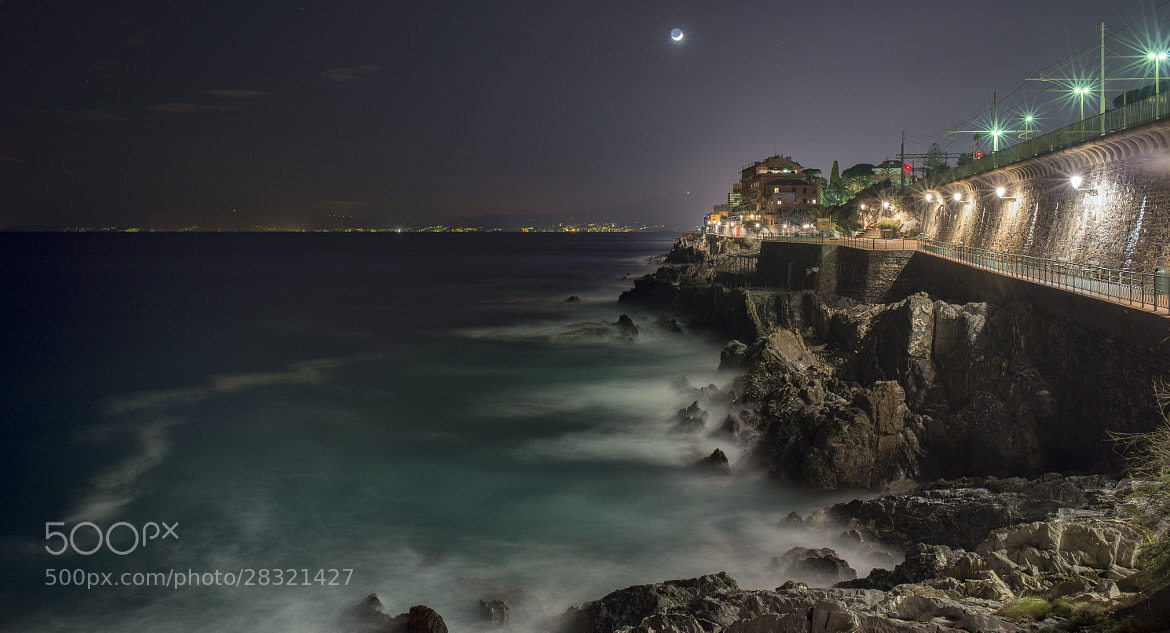 Photograph nervi by night by Sergio Tassi on 500px