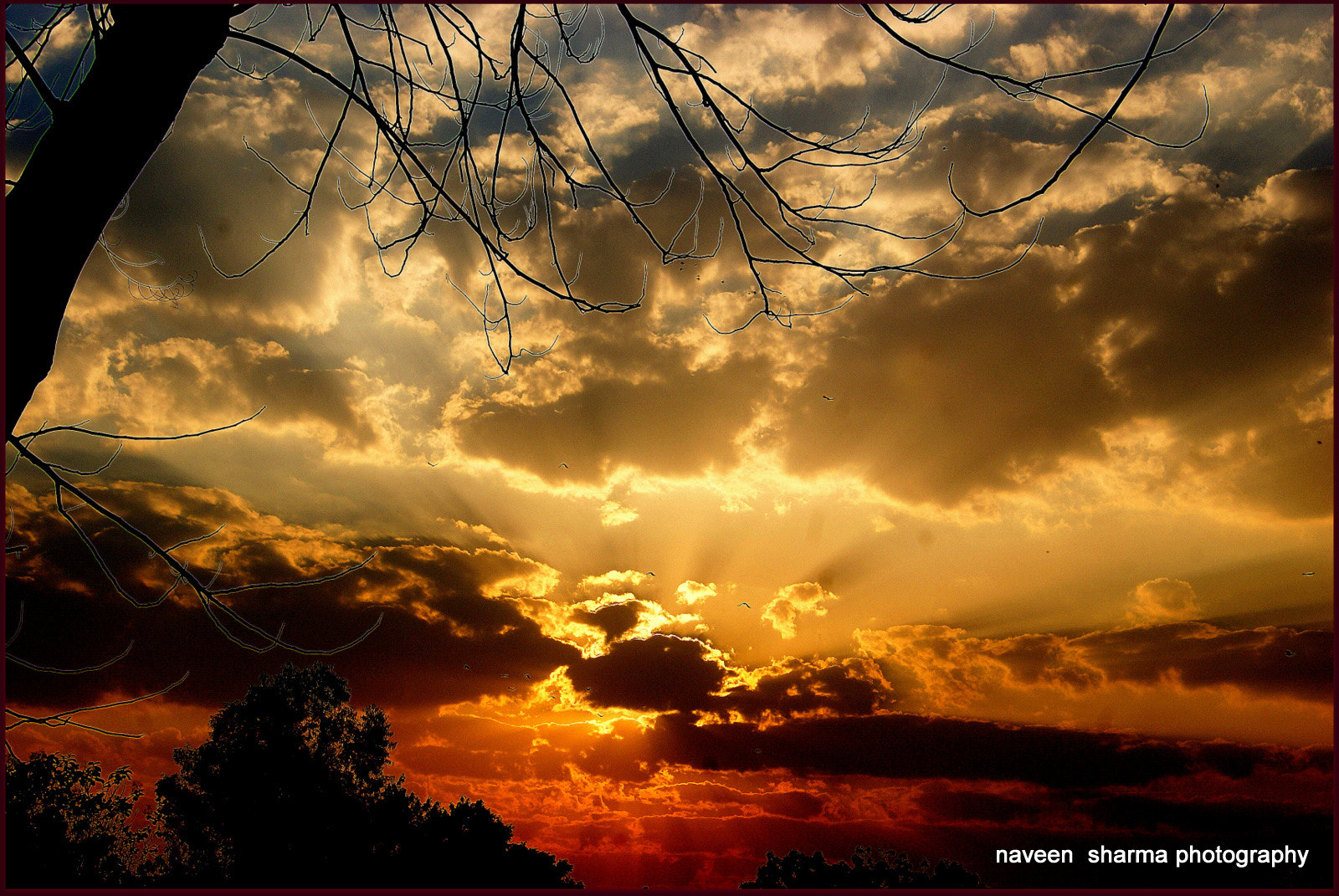 Photograph CLOUDY SUNSETTING by naveen sharma on 500px