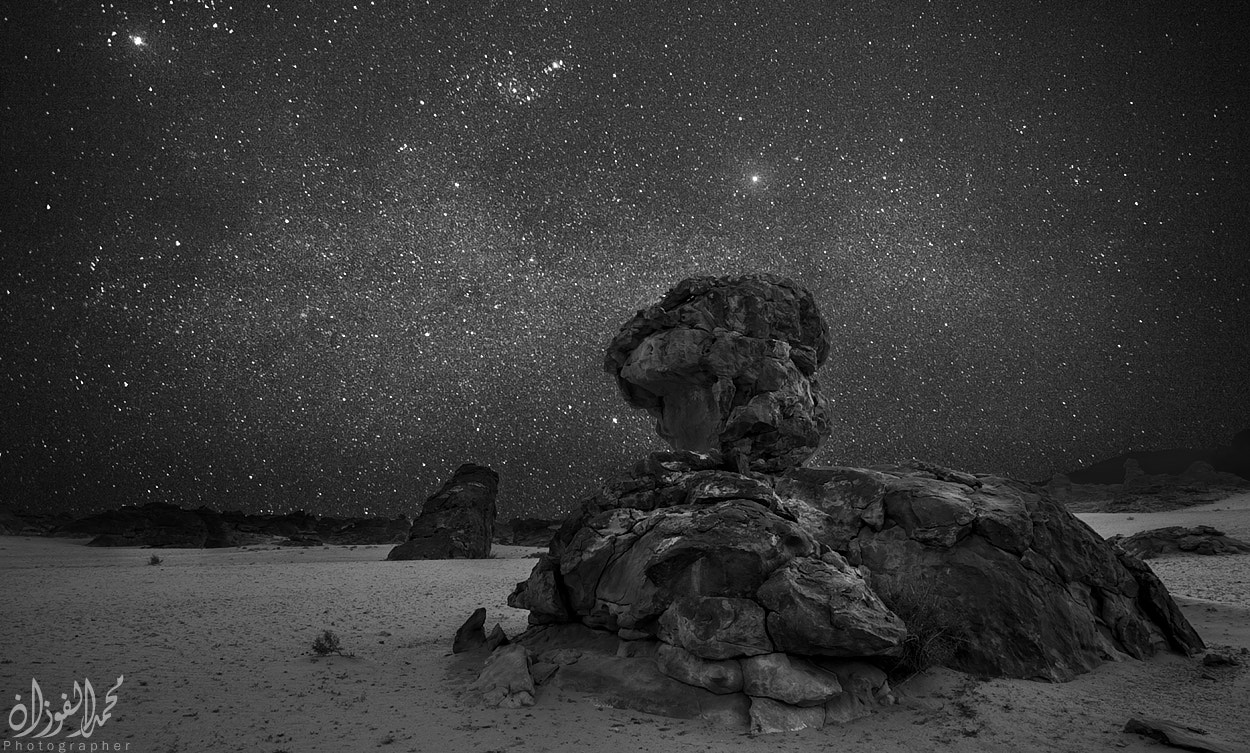 Photograph Night Of Stars by Mohammed Al-Fozan on 500px