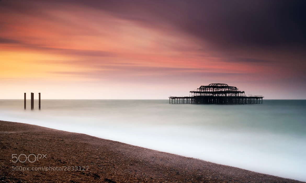 Photograph West Pier (Brighton) by Spencer Brown on 500px